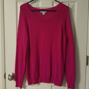 Forever 21 Pink Oversized Sweater